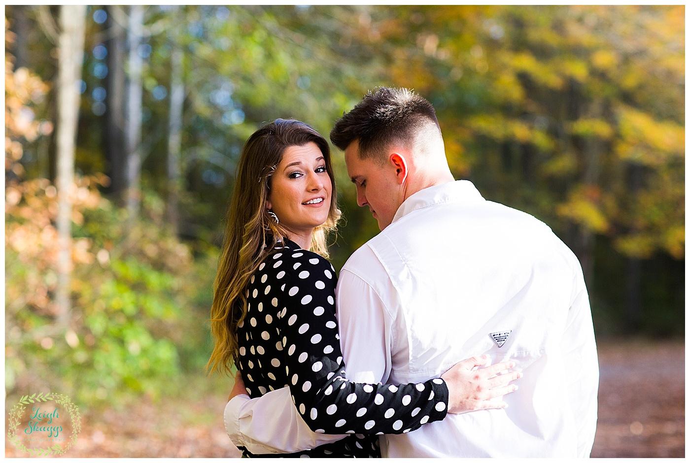 Lyndsi & Brandon | Oak Grove Lake Park Couples Session