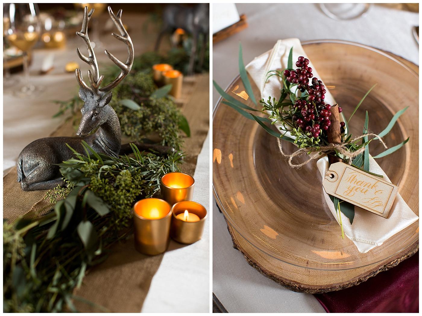 Winter Wonderland Wedding | Williamsburg Winery