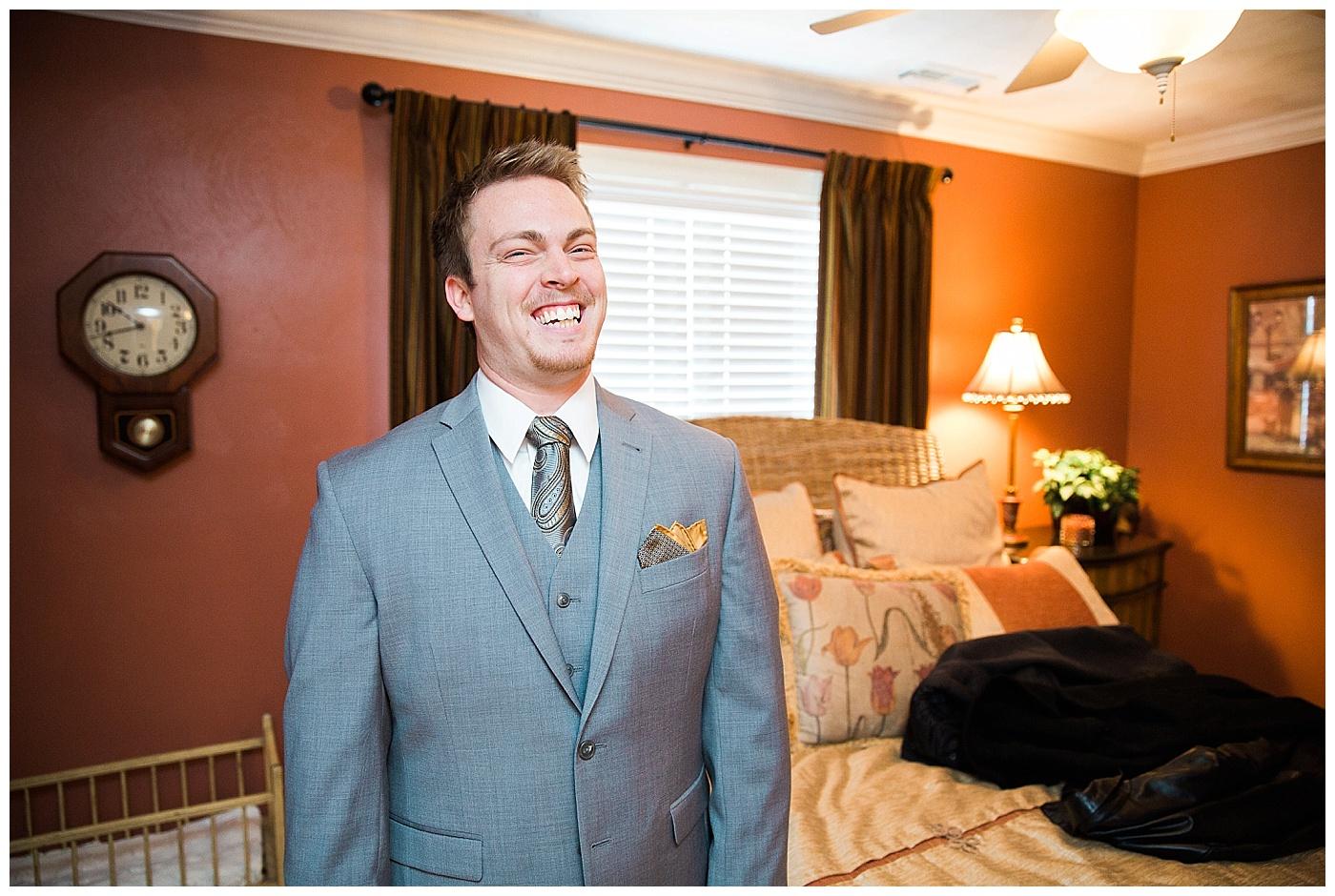 Katie & Matt | Family Home Wedding