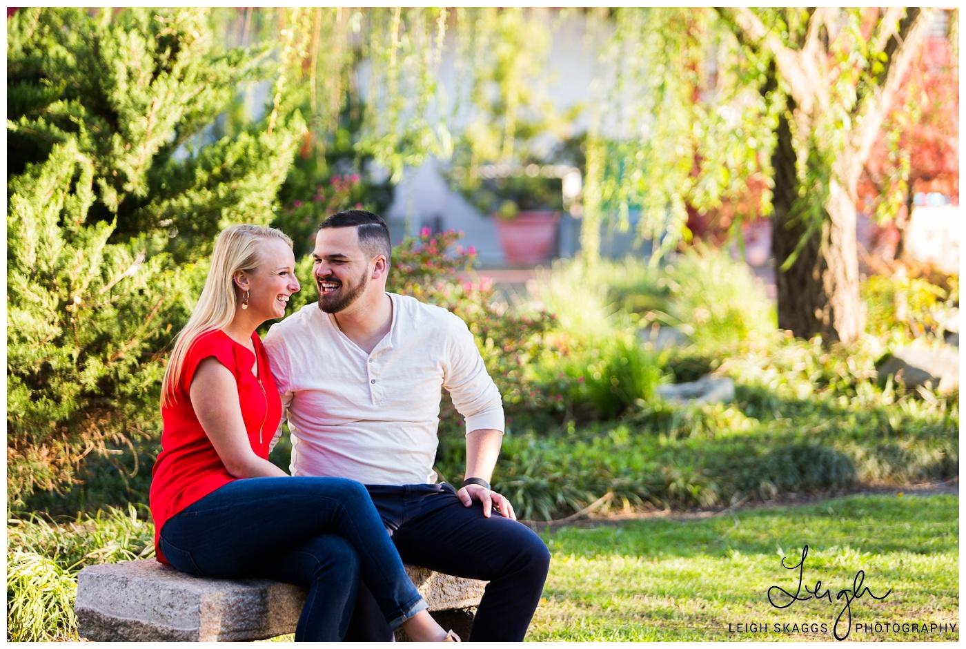 Kendall & Erik | Pagoda Engagement