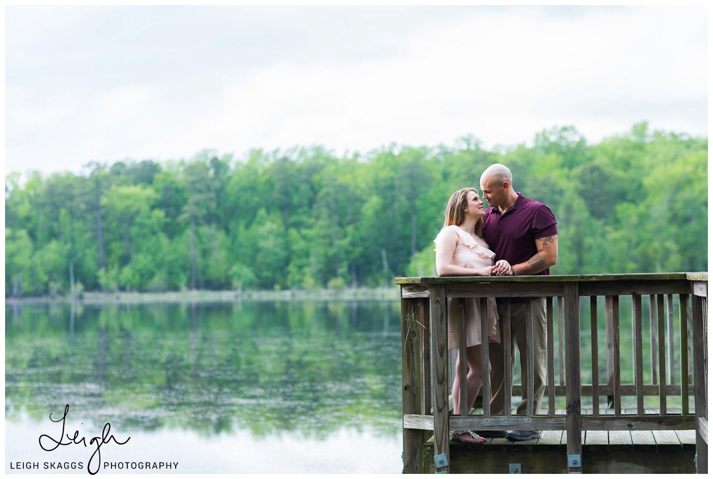 Caleigh & Paul | Newport News Park Engagement