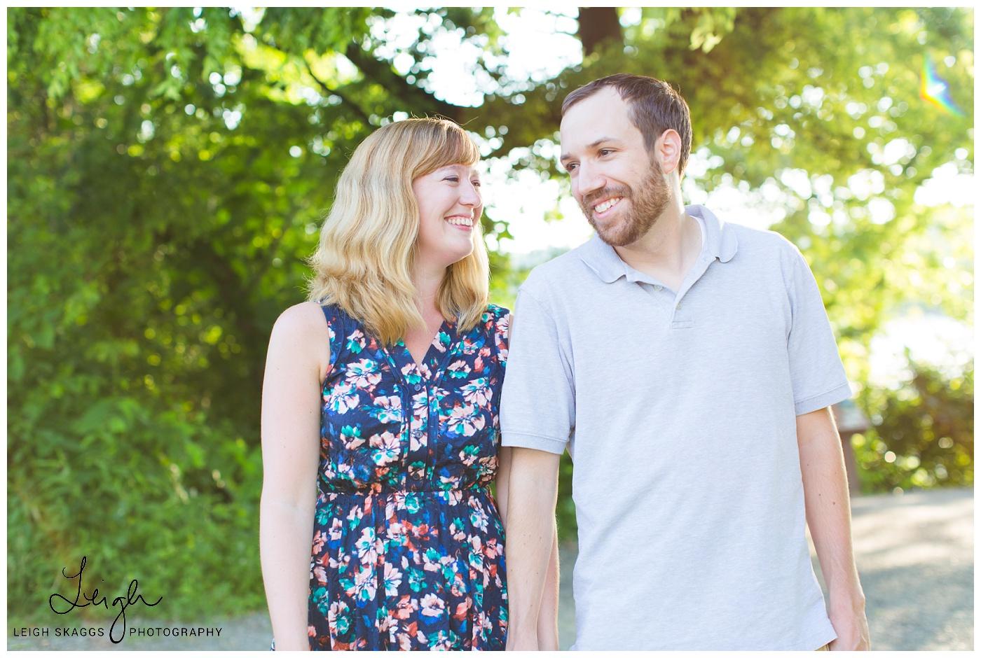 Katy & David | Belle Isle Engagement