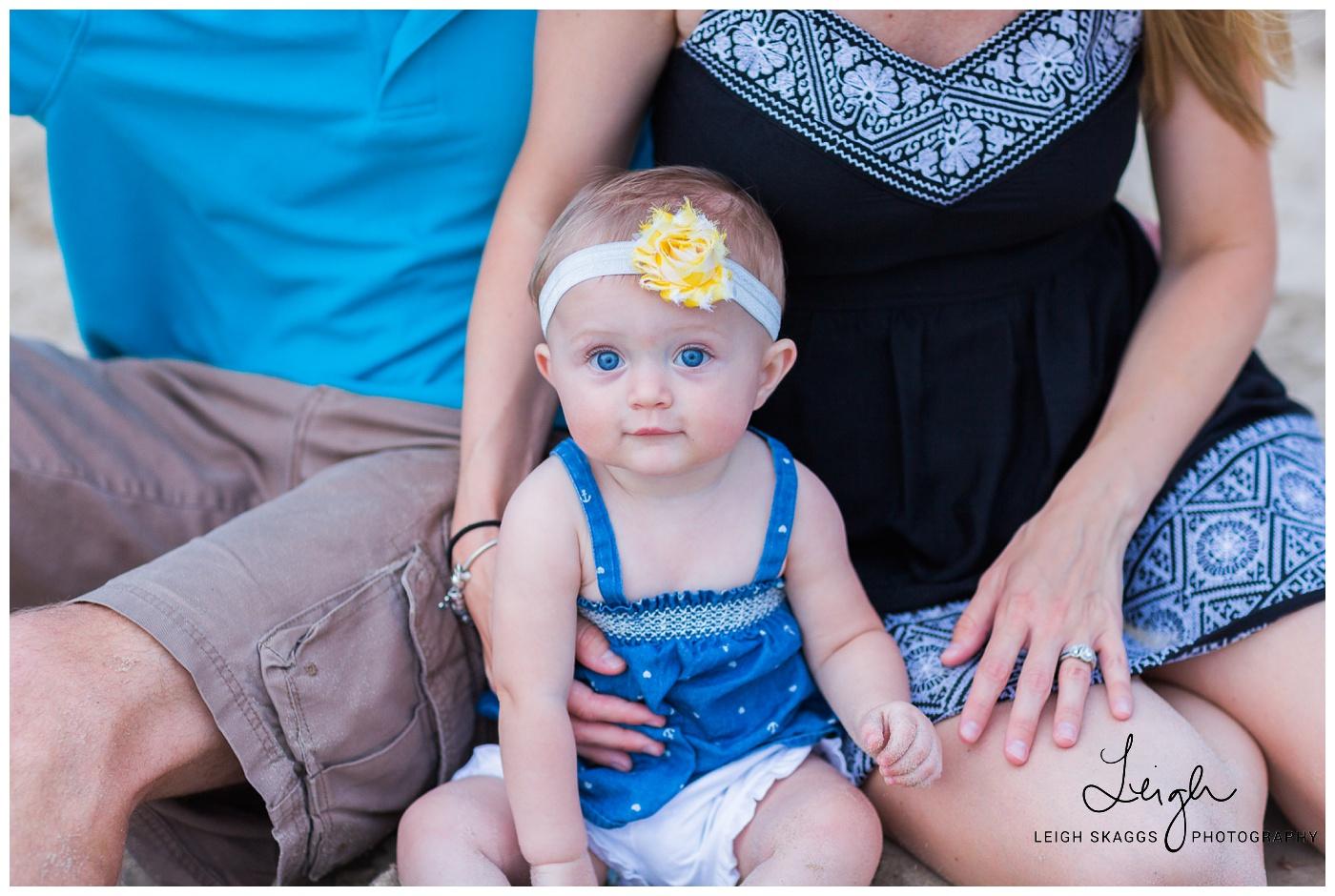 Jamie, Alex & Kinsley | Family Beach Session