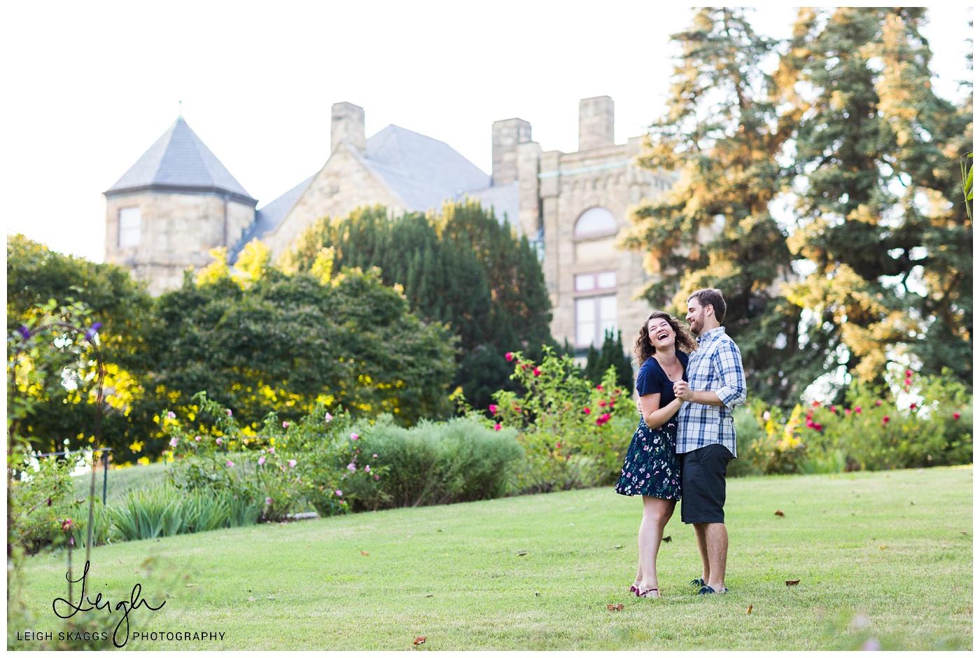 Caitlin & Eric   Maymont Park Engagement