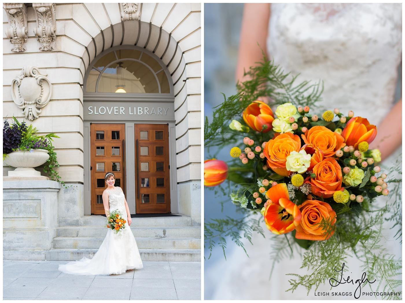 Andi & David   Slover Library Wedding