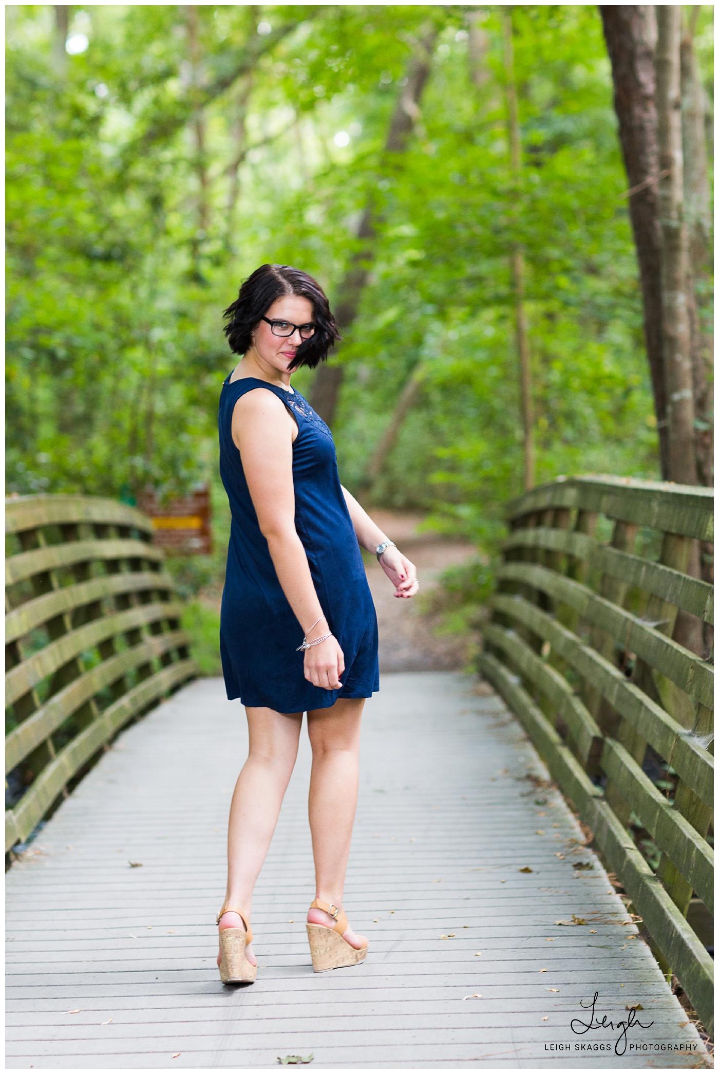 Emily is a Senior   First Landing Senior Session