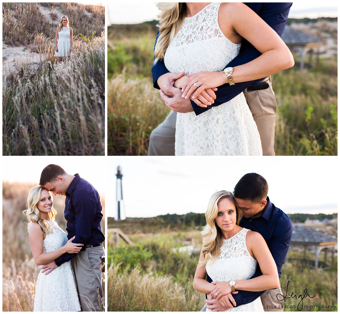 Katie & Adam | Fort Story & Nautical Engagement Session