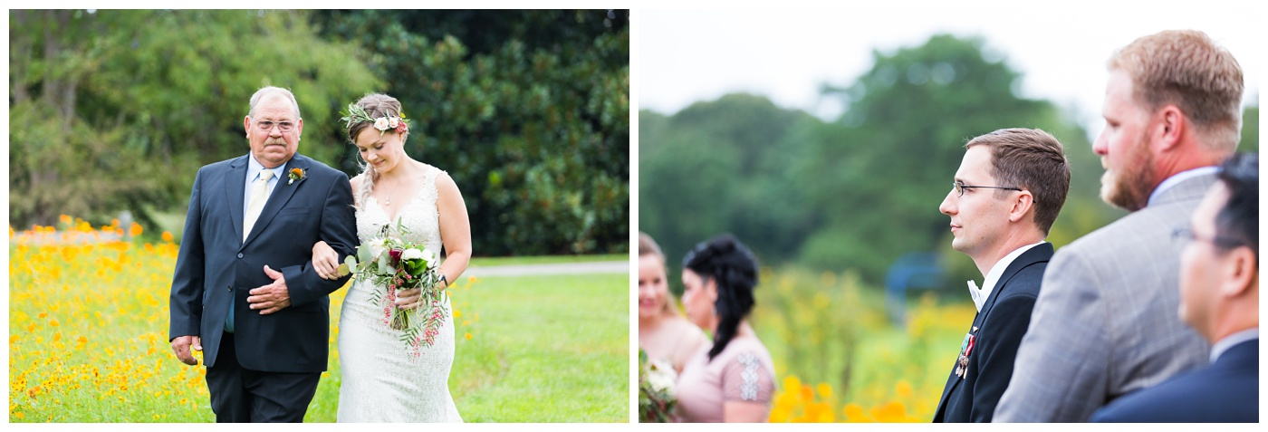 Anna & Andy | Norfolk Botanical Garden Wedding