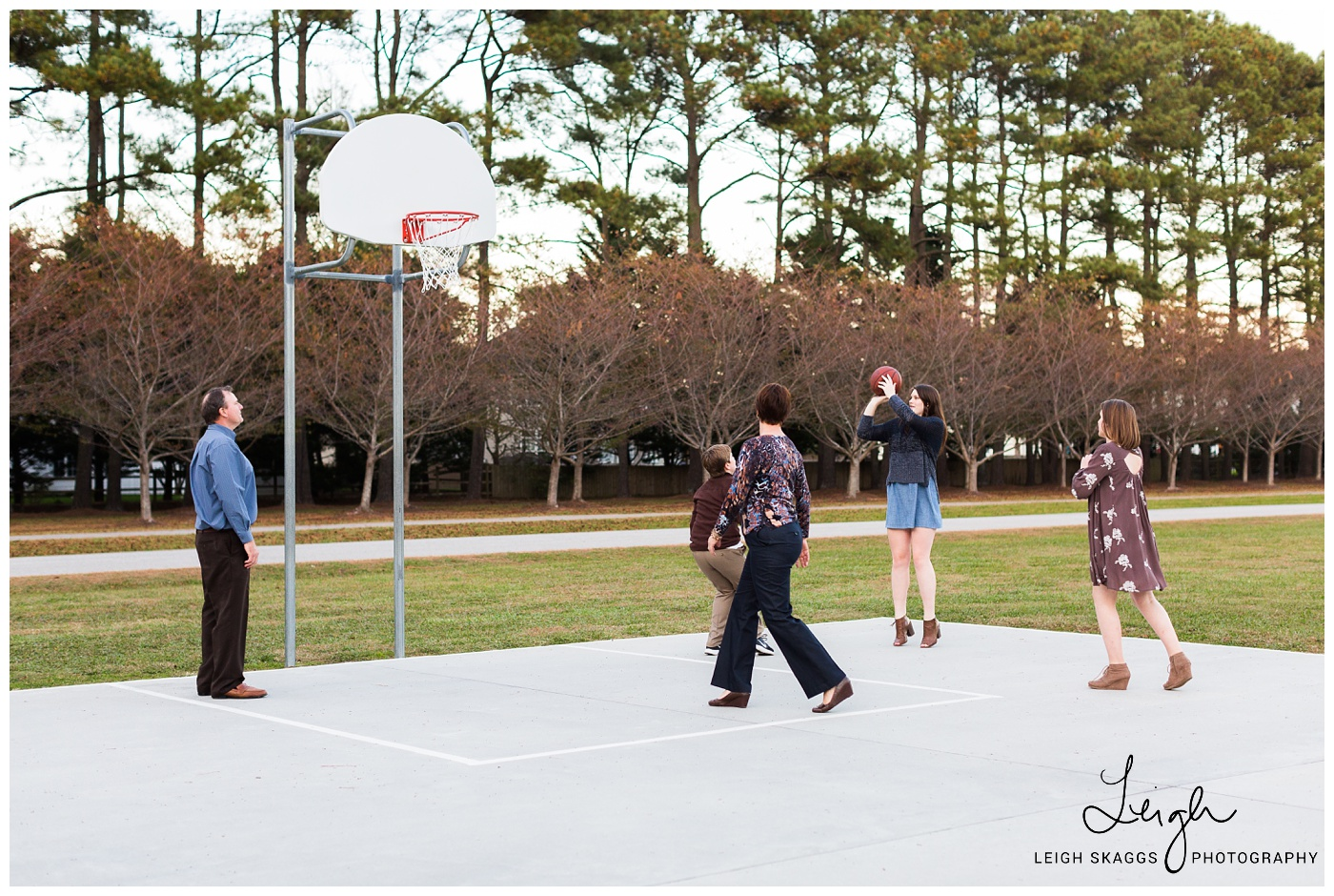A Basketball Family | Red Wing Park Family Portrait session
