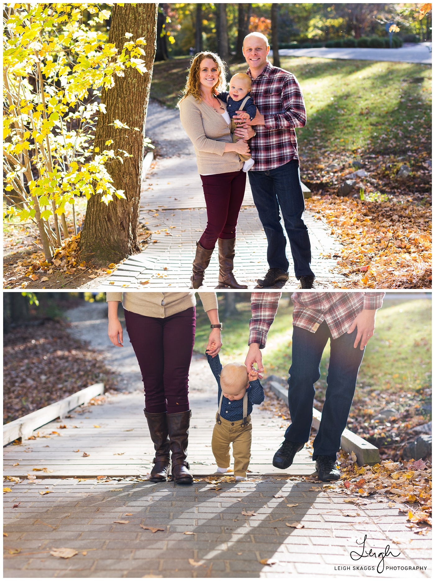 Freddy, Megan & Grant | A Noland Trail Family Session