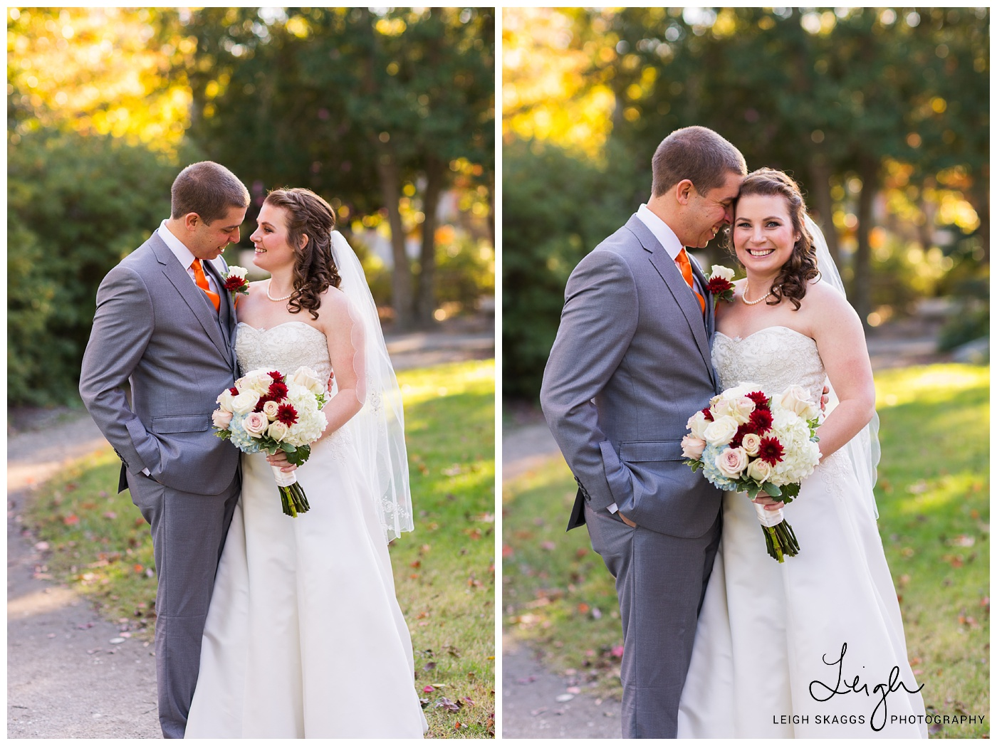 Nicole & Eric | Mariners Museum Fall Wedding