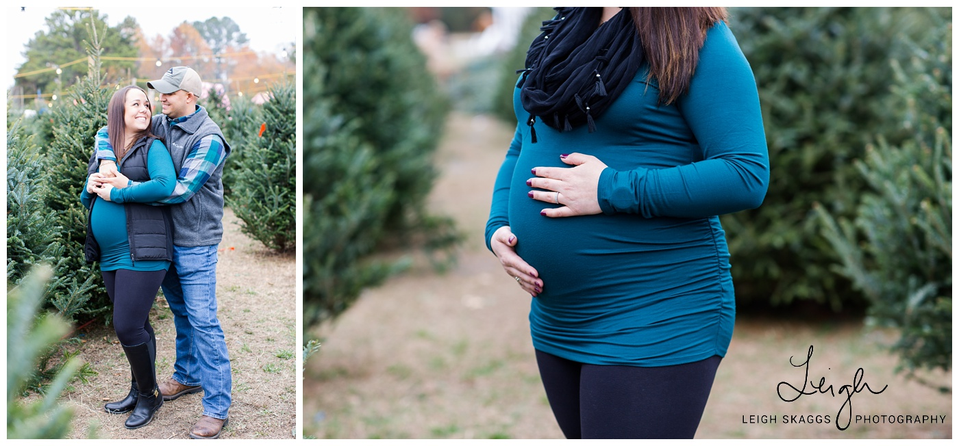 Andy Are Having A Baby!! A Christmas Tree Farm Maternity Session - Christmas Tree Farm In Virginia