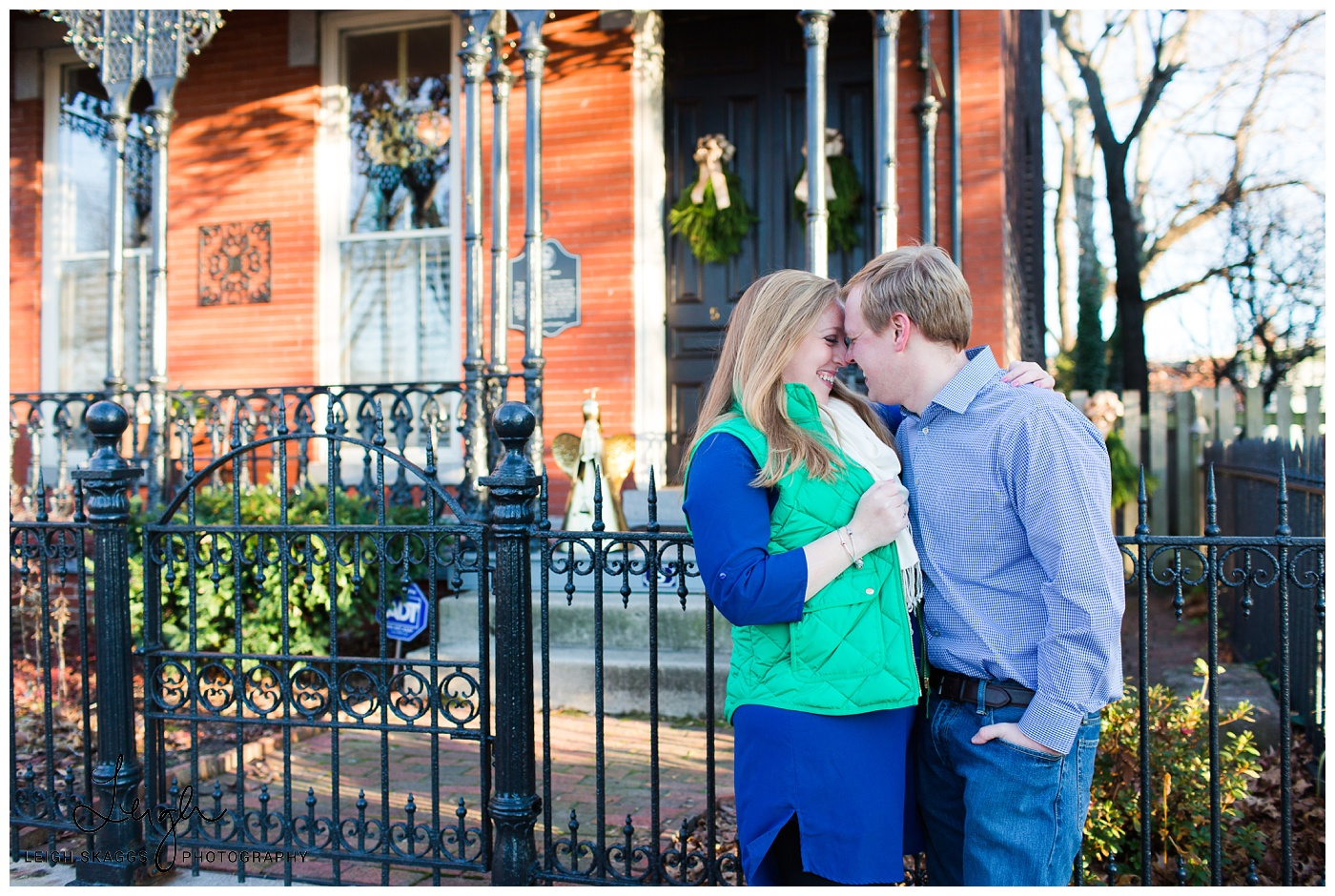 Becca & Thomas | Libby Hill Park and Tredegar Engagement session