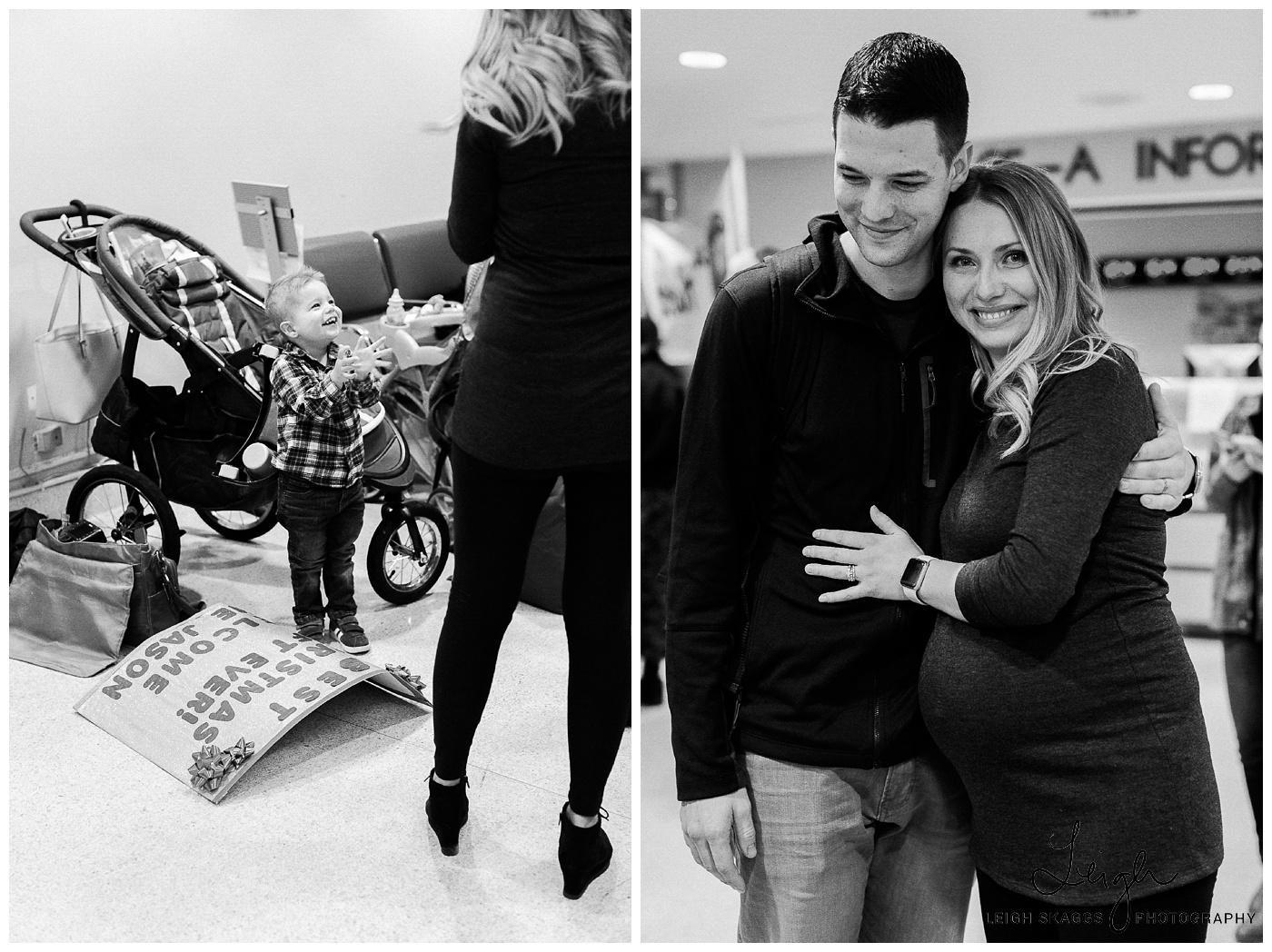 Lauren & Jason | Navy Homecoming