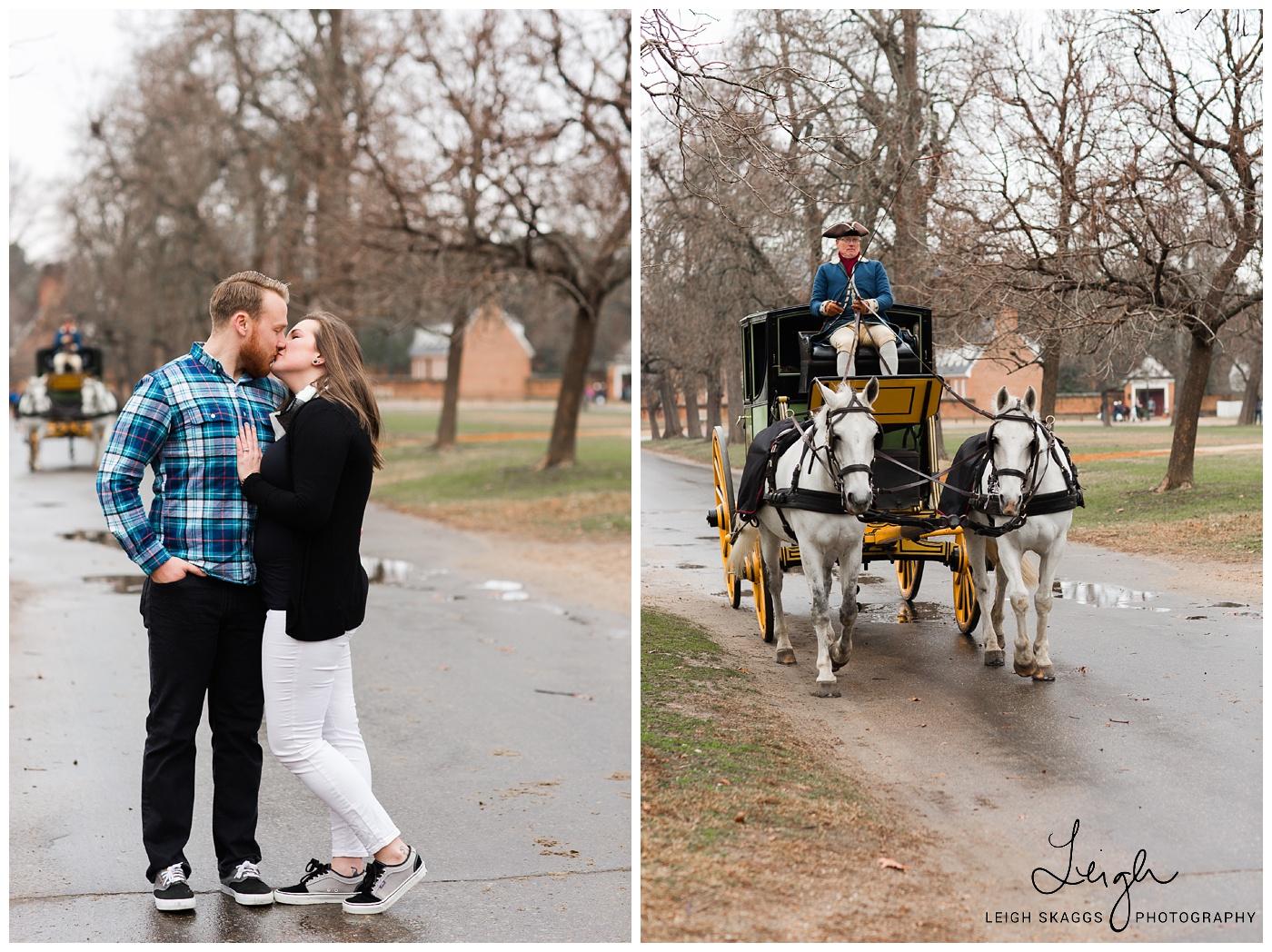Meagan & Erik | Williamsburg Engagement session