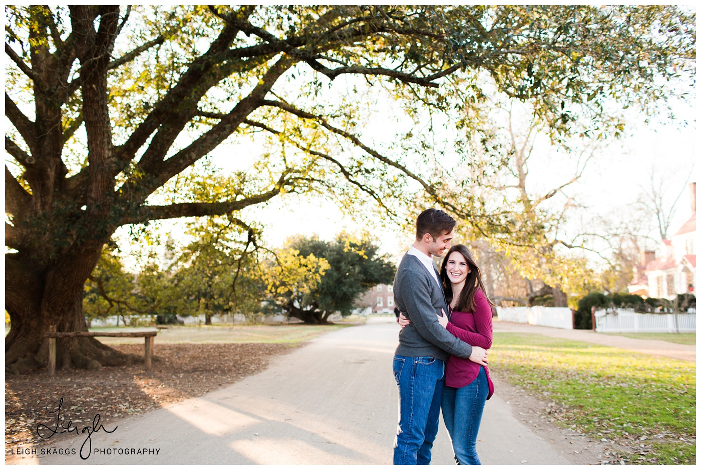 Kelsey & Nick | Colonial Williamsburg Engagement session