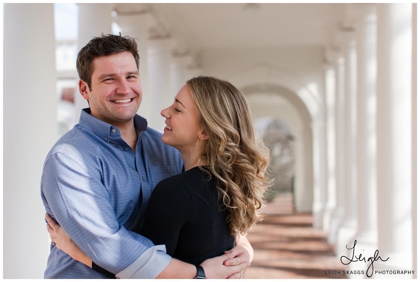 Olivia & Ian   UVA Engagement session
