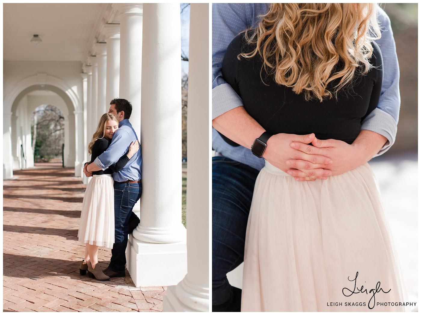 Olivia & Ian | UVA Engagement session