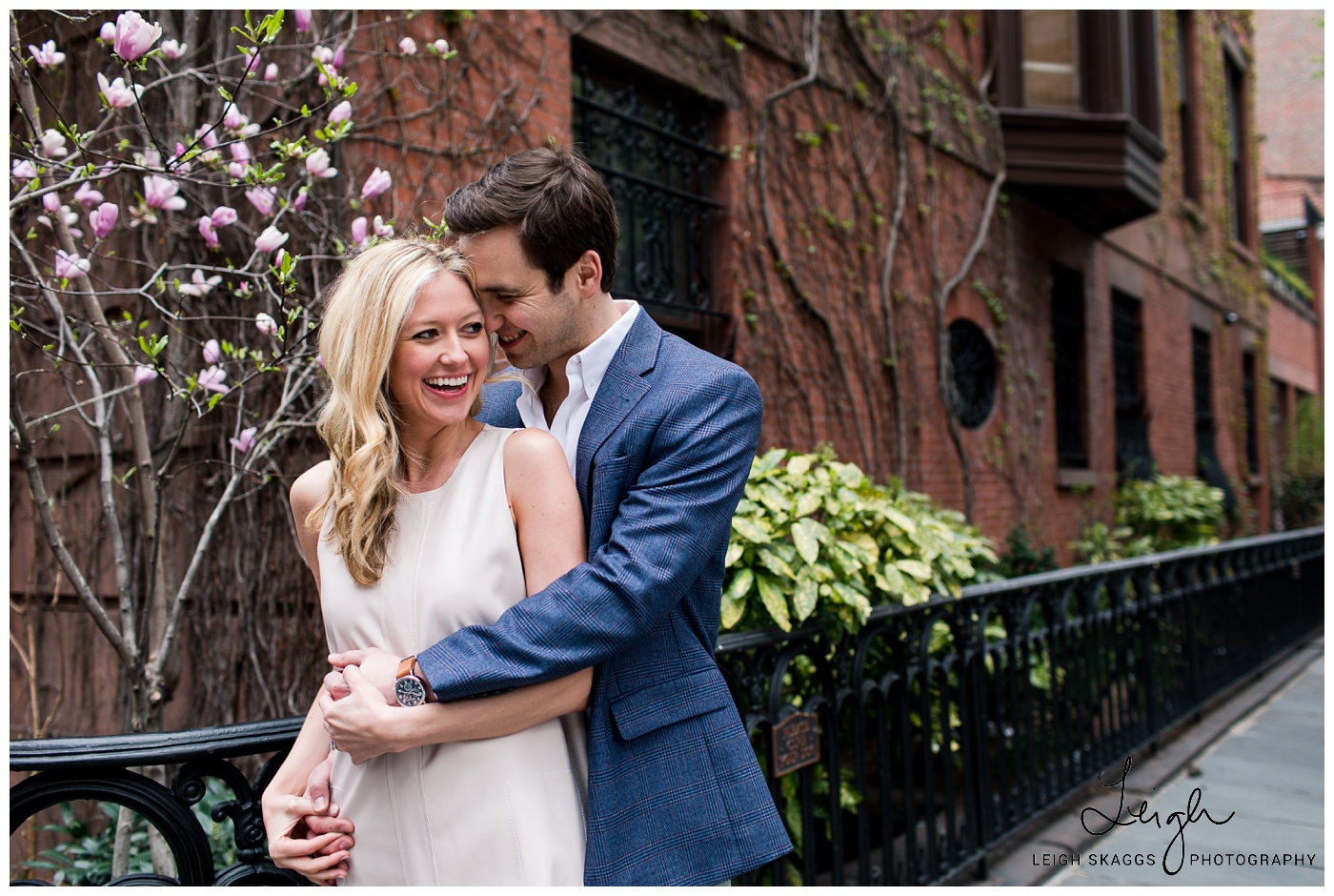 Morghan & Alex | Gramercy Park Engagement Session