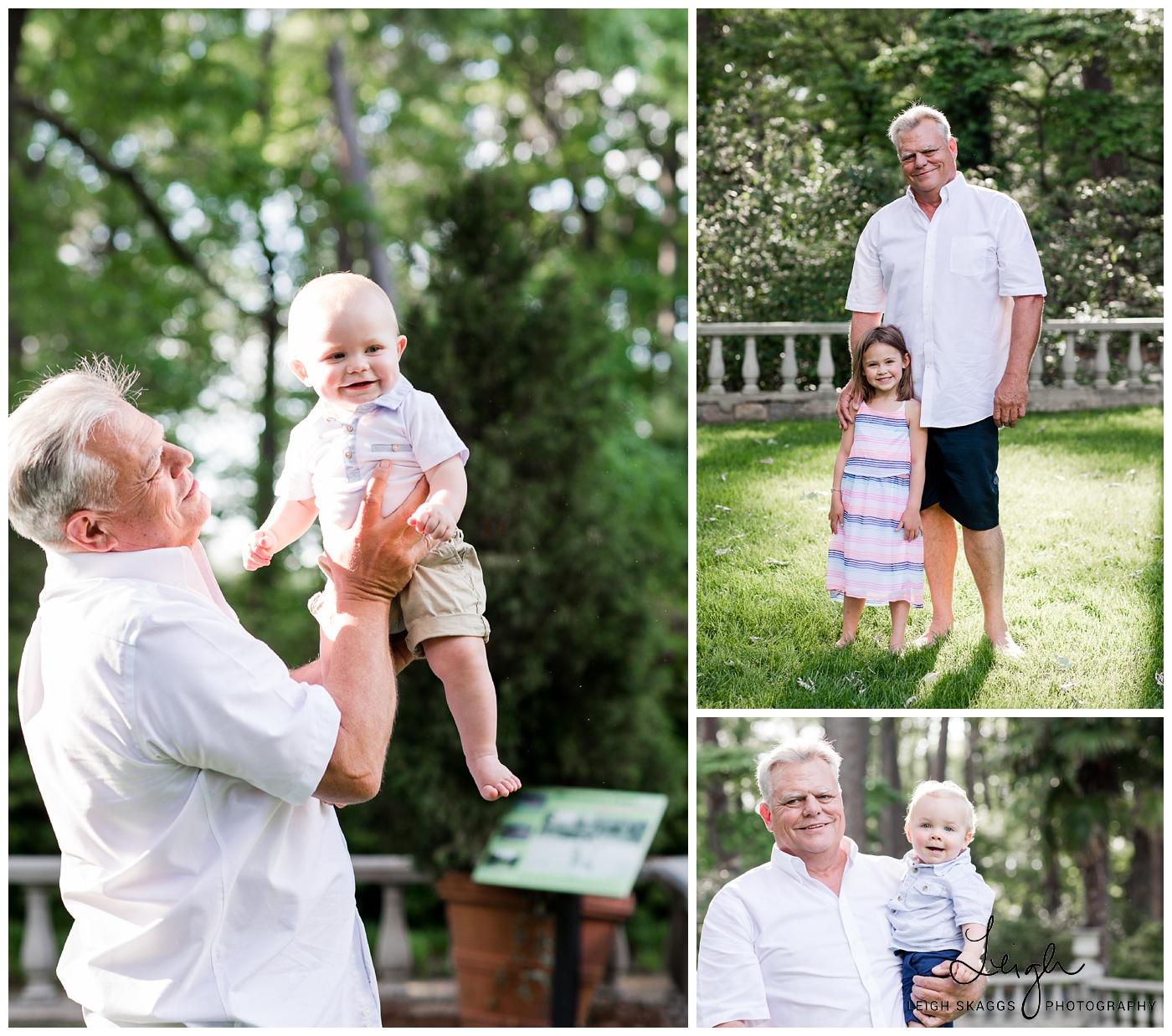 All in the Family | Norfolk Botanical Garden Family Session