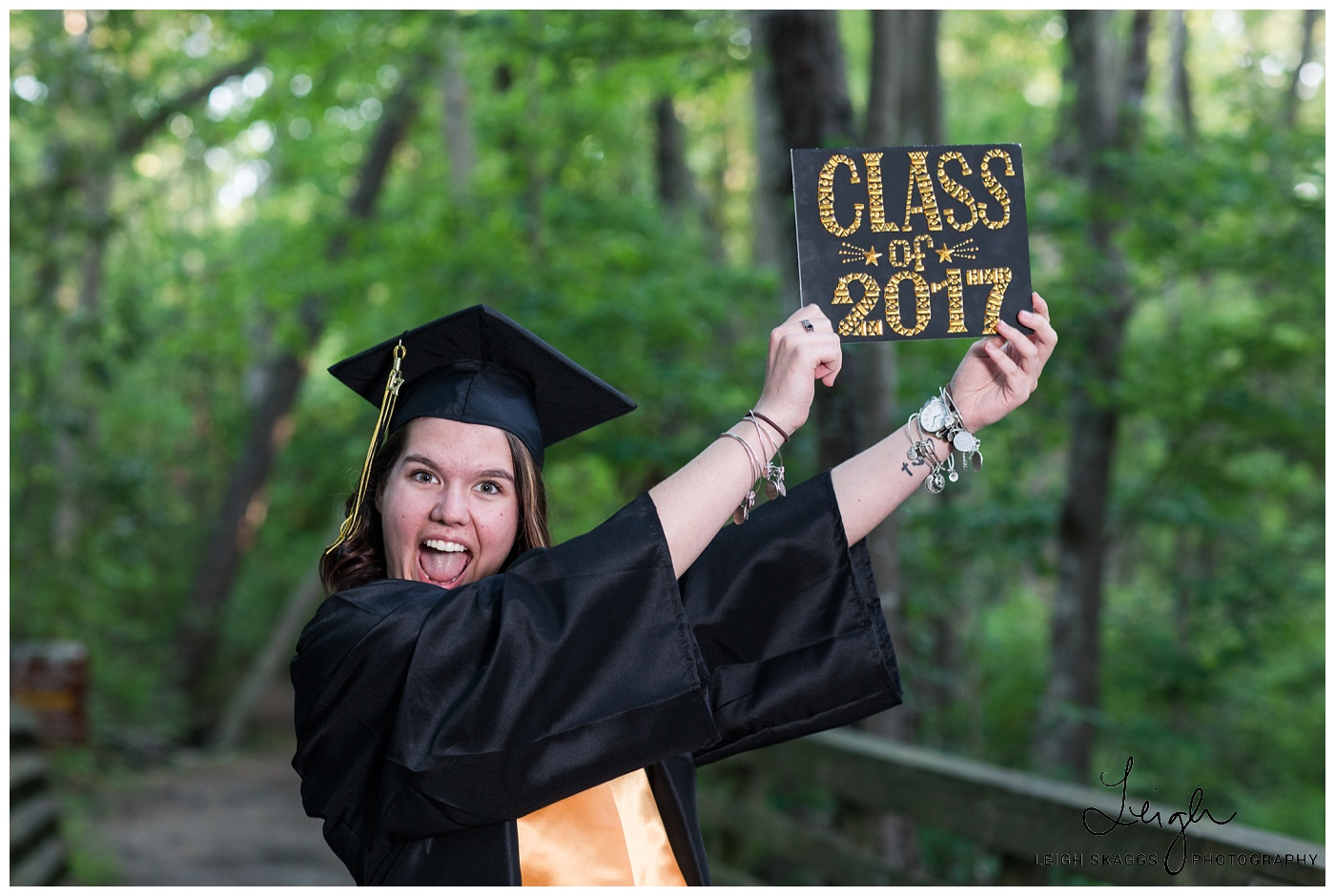 Emily & Jessie | First Landing Cap & Gown Session