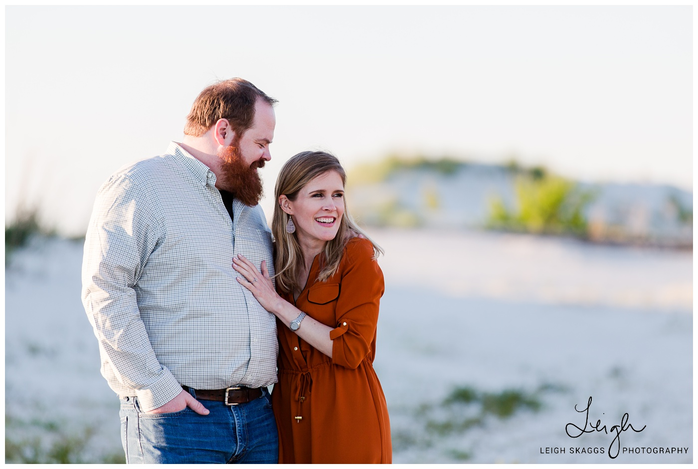Emily & Hogan | Cape Charles Engagement session