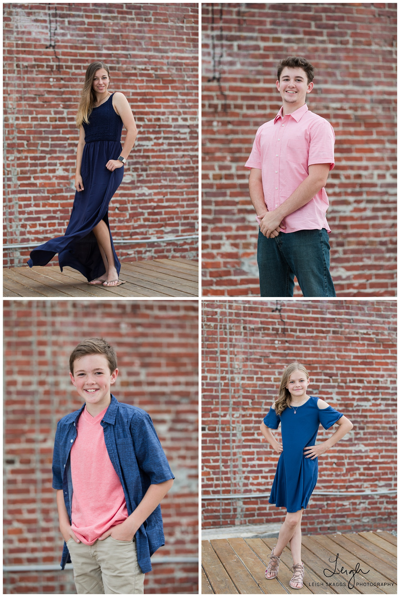 Family of 6 | Neon District Family Session