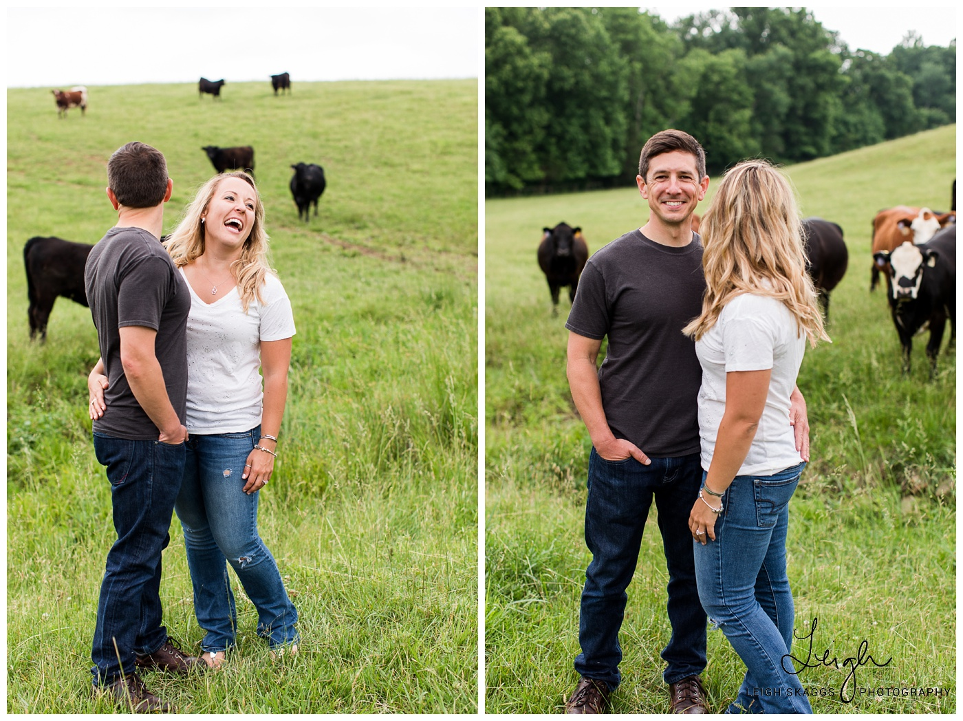 Heather & Keith | Oak Creek Farm Engagement Session