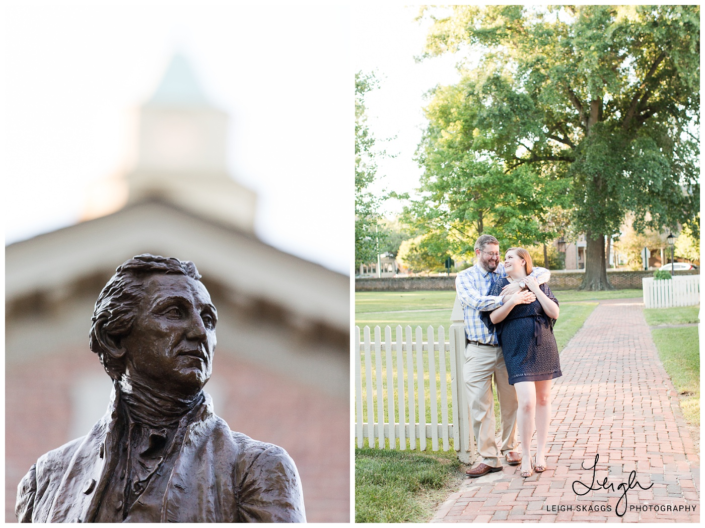 Mary & Russell | Colonial Williamsburg Engagement Session