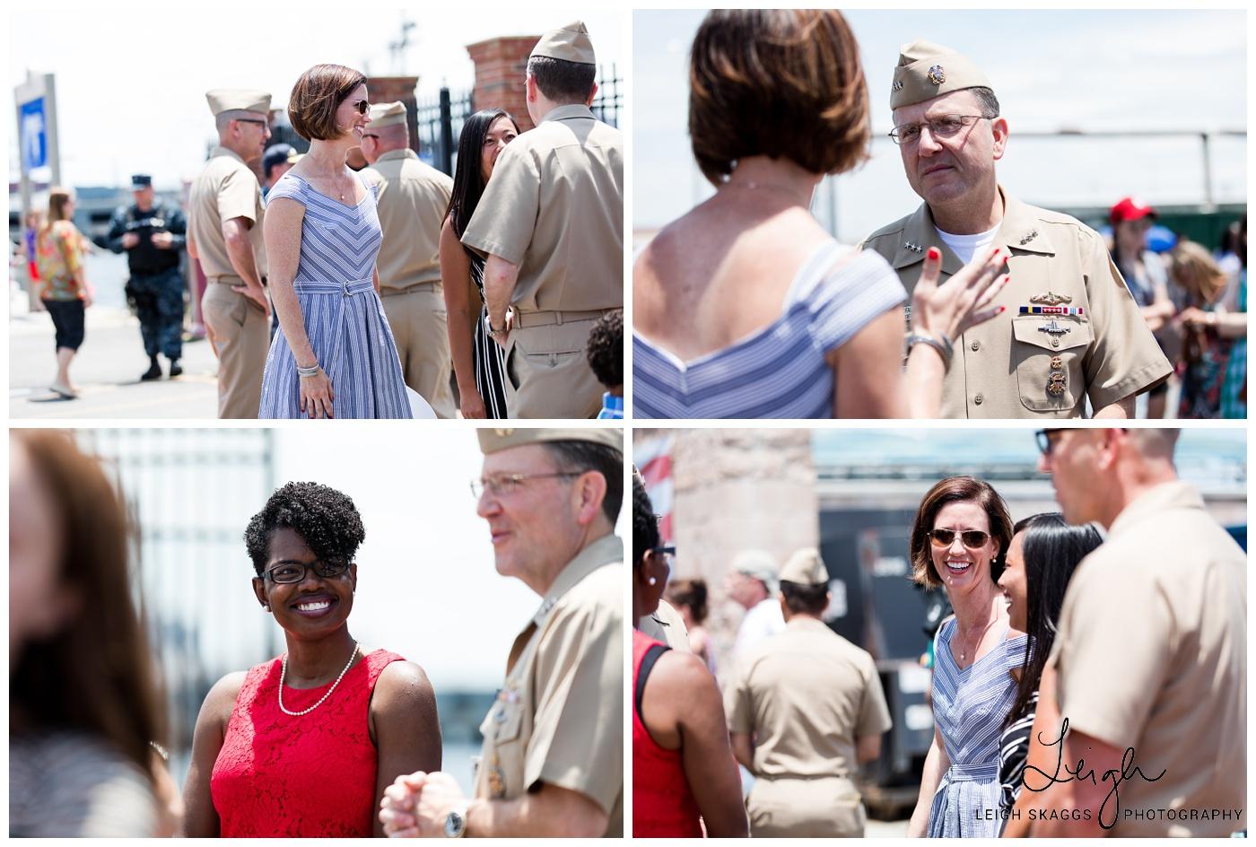 Vicki & Jason | Helena Submarine Homecoming