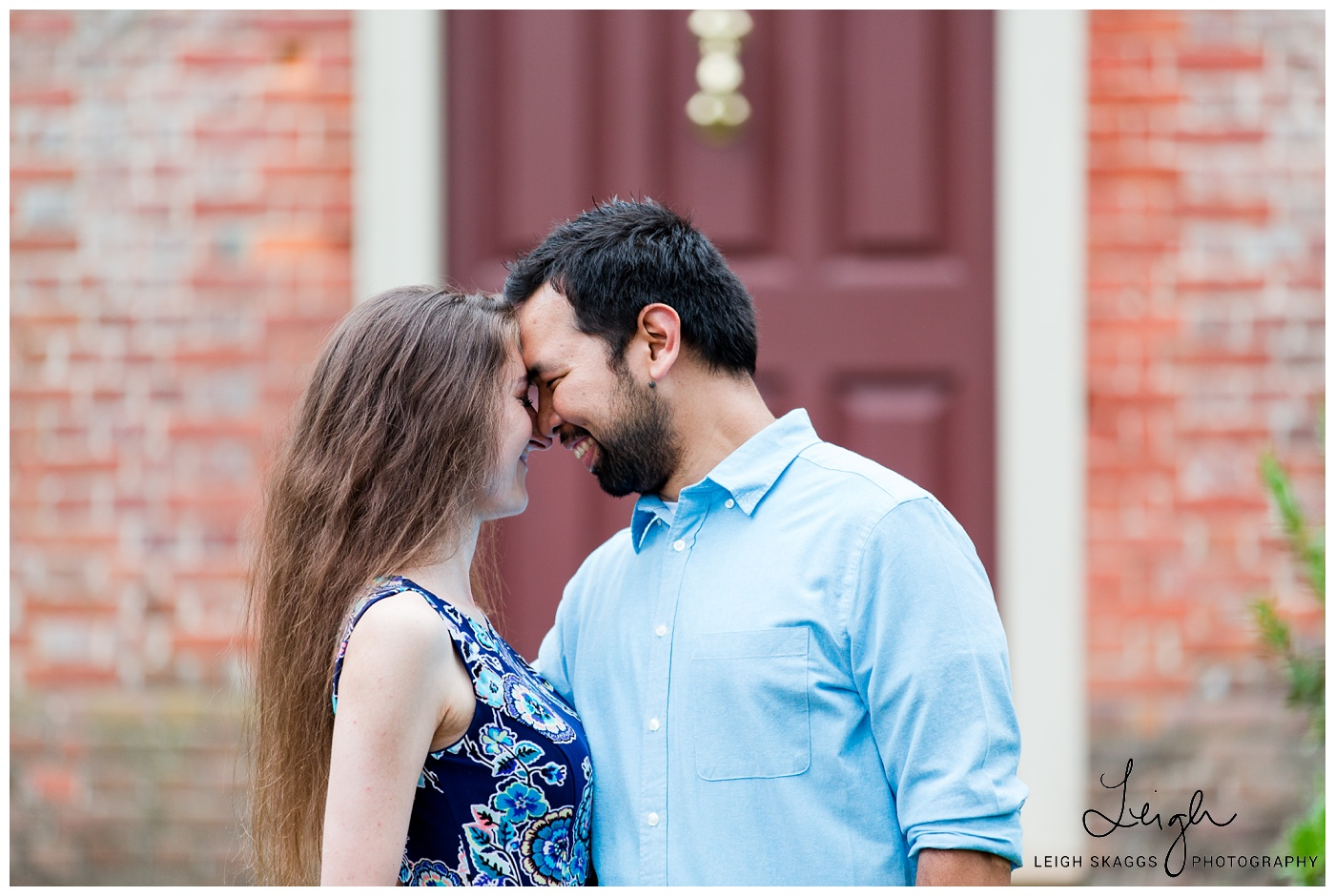 Jacky & David | Colonial Williamsburg Engagement Session