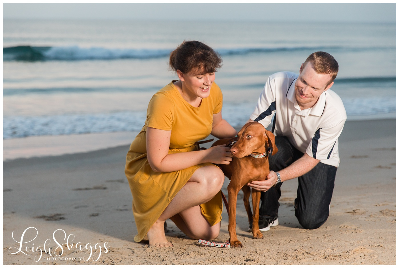 Caitlin, Darryn & Maggie | OBX Sunrise Family session