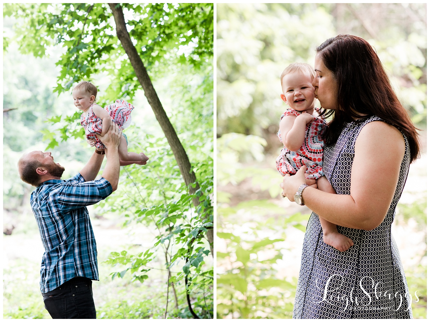 Mike, Jen and Madeleine | Washington D.C. Family session
