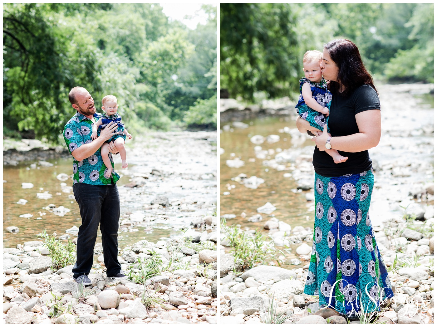 Mike, Jen and Madeleine   Washington D.C. Family session