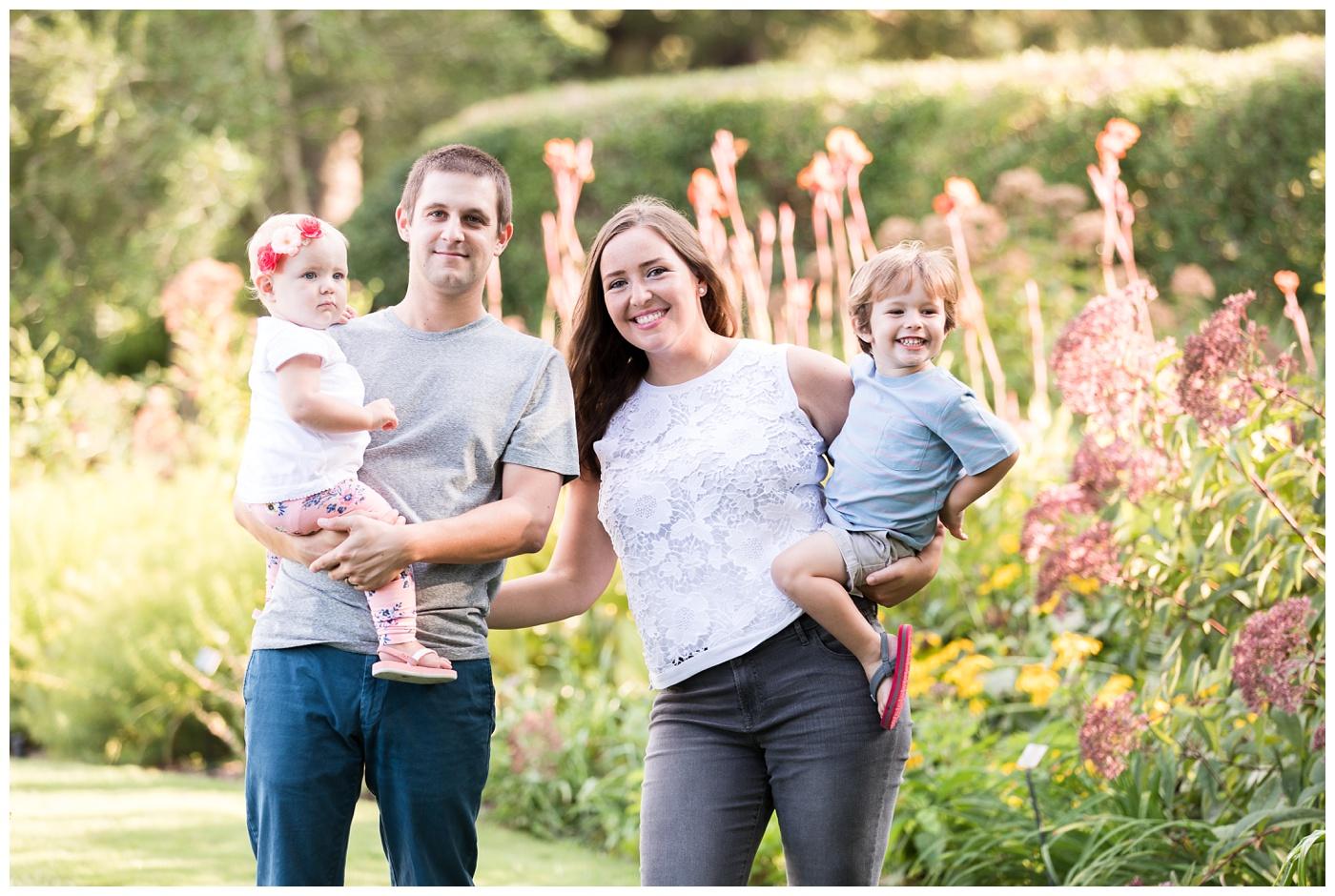 The Flynn Family | Norfolk Botanical Gardens