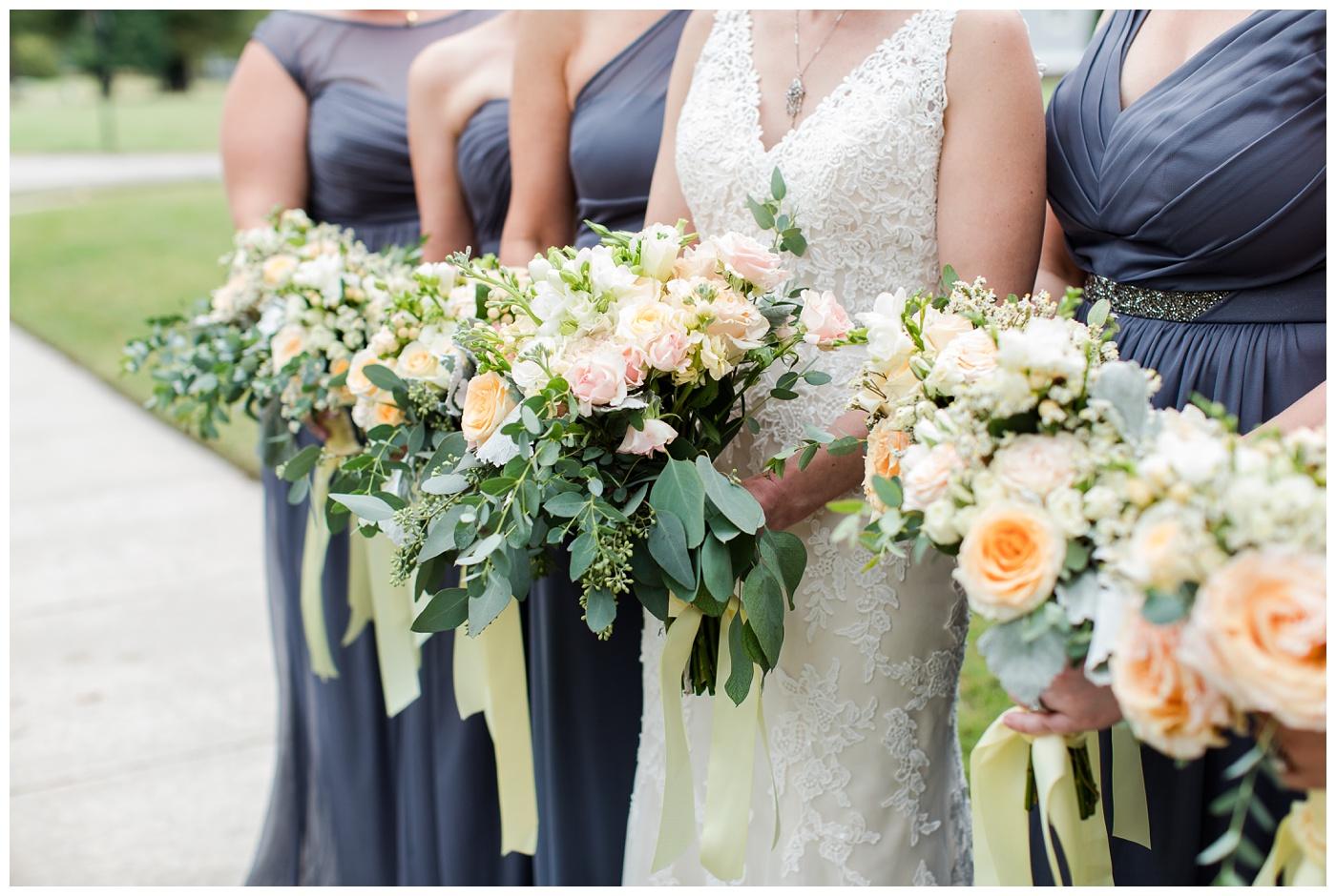 Emily & Hogan | Cape Charles Outdoor Backyard Fall Wedding