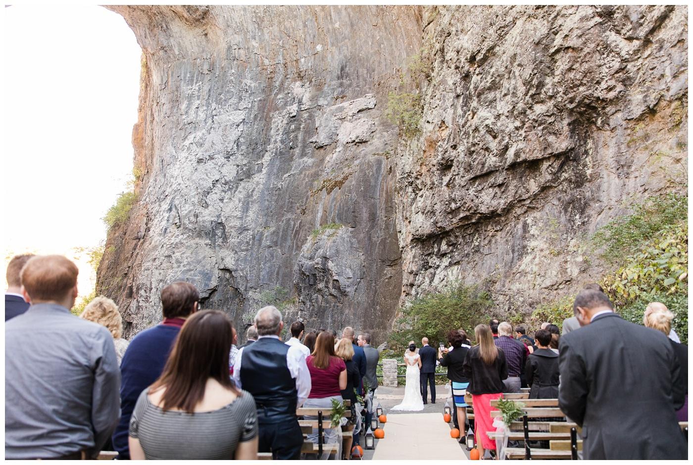 Caitlin & Alex | Natural Bridge Wedding Vow Renewal