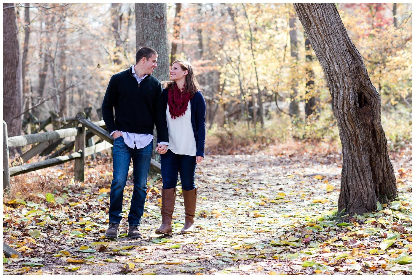 Brielle & David | Great Falls Park Engagement session